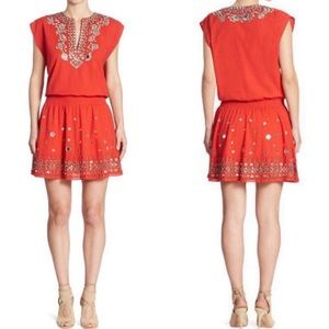 Alice + Olivia Embellished Pimmy Drop Waist Dress